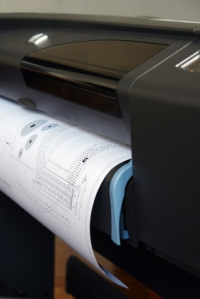 Proper disposal of electronic data stored on a large format printer's disk drive is imperative to preventing inadvertent disclosure of sensitive or confidential information.