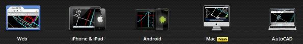 The full range of AutoCAD WS applications. (Image courtesy of Autodesk, Inc.)