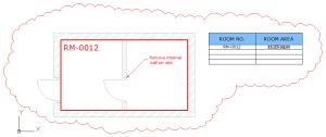 Rev 3 of the FM drawing showing changes that need to be made. (Image courtesy of Autodesk, Inc.)