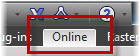 The AutoCAD 360 Online ribbon tab.