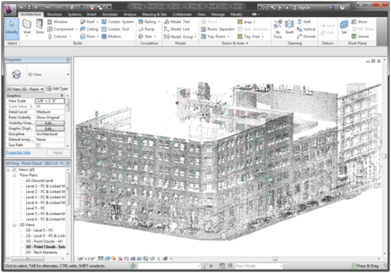 Point Clouds in Autodesk Revit 2013