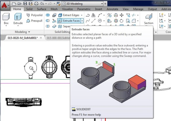 The popups make it easy to learn what AutoCAD can do and they make it easy to start using these new tools.